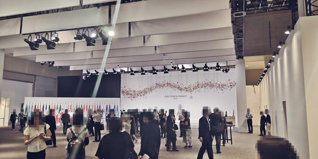 G20大阪サミット エントランス
