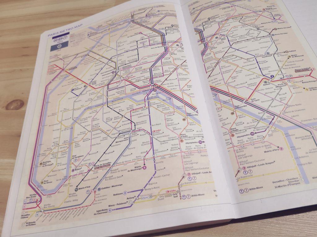 DELFONICS(デルフォニックス)の路線図(パリ)