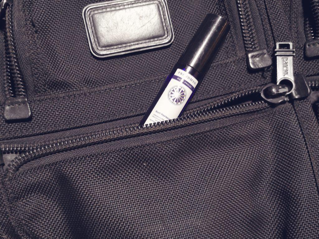 TUMI ALPHA BUSINESS 26141DHの小型収納ポケット