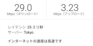 とくとくBB WiMAX2+ ギガ放題12:00の測定結果