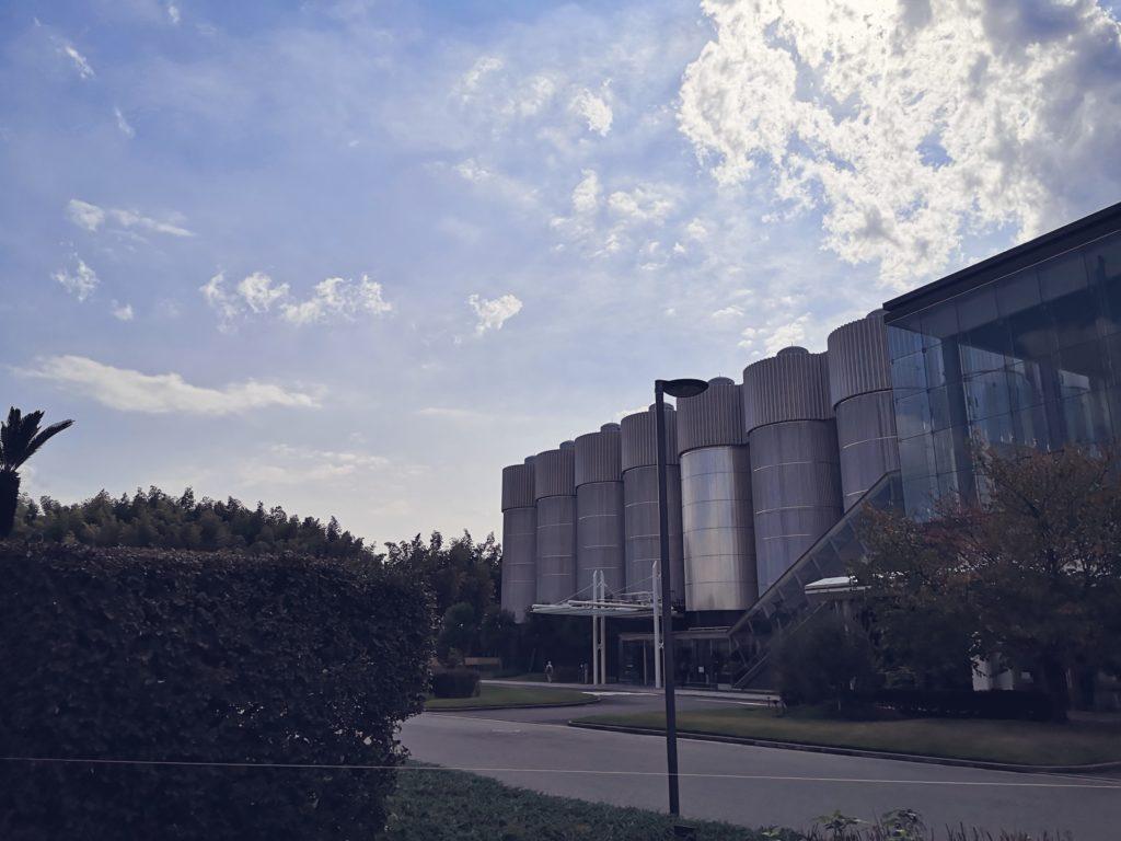 サントリー京都ブルワリーの工場群