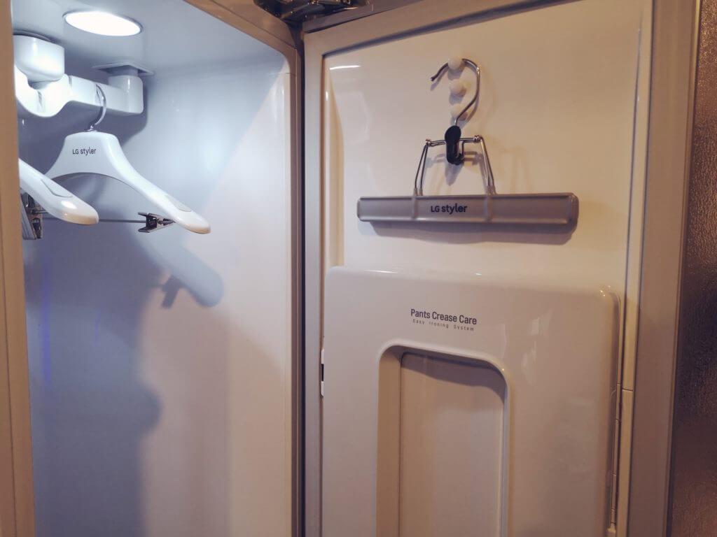 変なホテル博多のスチーム洗浄機を開放