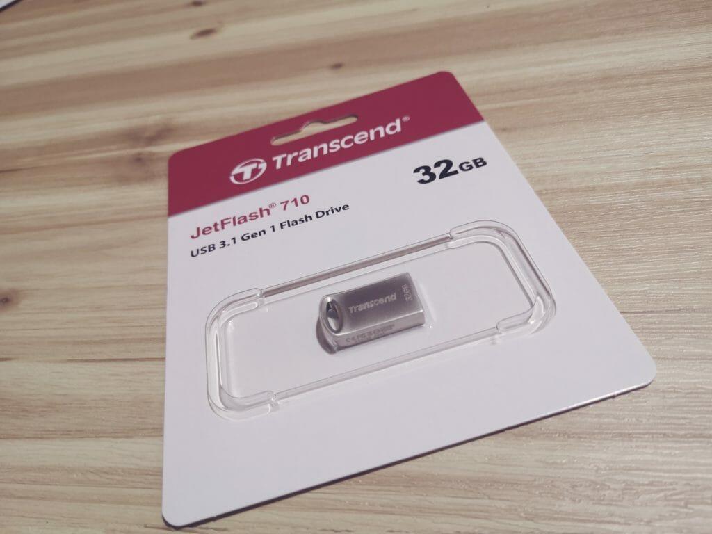 Transcend Jet Flash 720のパッケージ