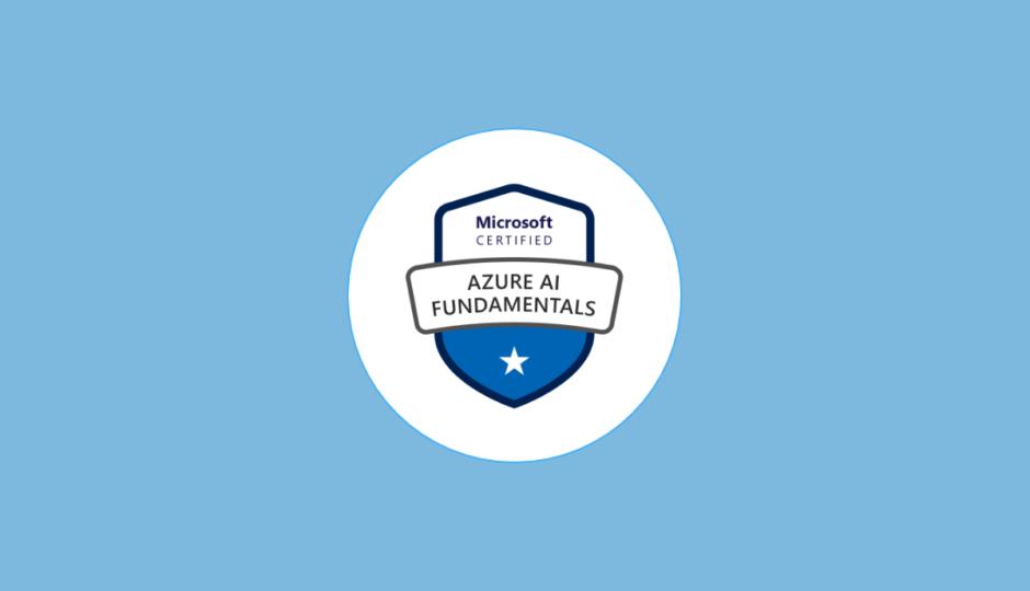 AI-900 Microsoft Azure AI Fundamentals